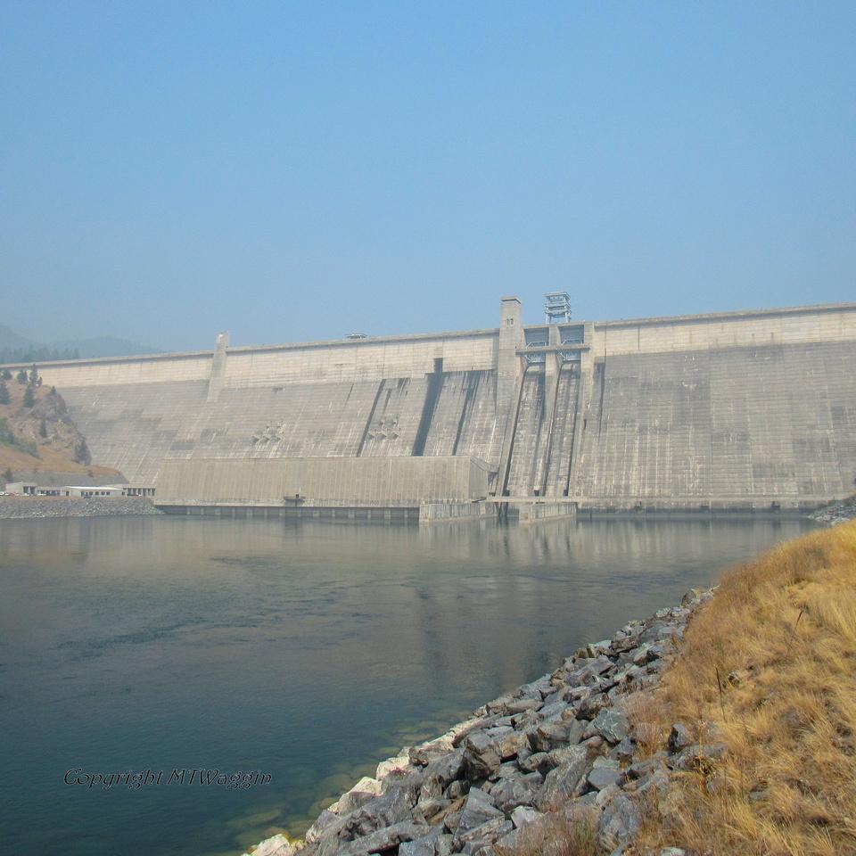 Koocanusa Dam on the Kootenai River