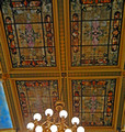 Up High - Stained Glass in the ceiling of the Senate Chambers